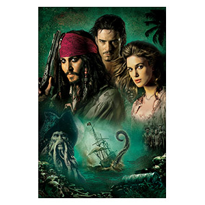 Pirates of the Caribbean. Размер: 20 х 30 см